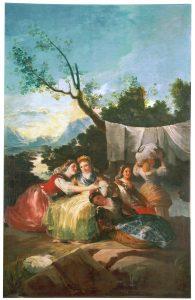 Las Lavanderas ( Goya )